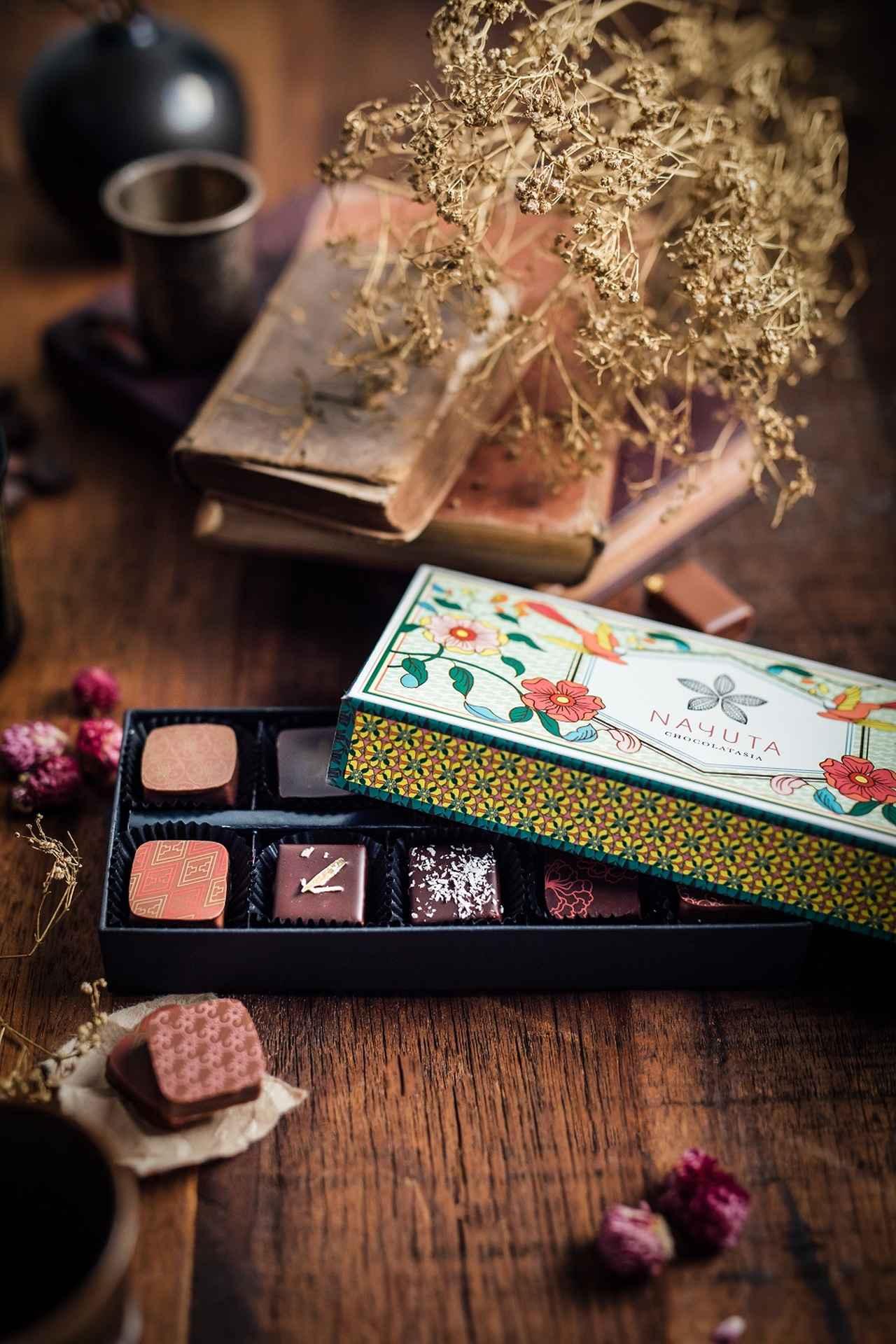 "Images : 4番目の画像 - 「アジア発、""日本人好み""の チョコレート「NAYUTA  CHOCOLATASIA」」のアルバム - T JAPAN:The New York Times Style Magazine 公式サイト"