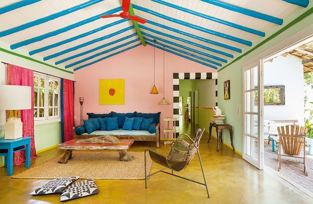 画像1: ブラジル、バイーアの 色彩あふれるホテル