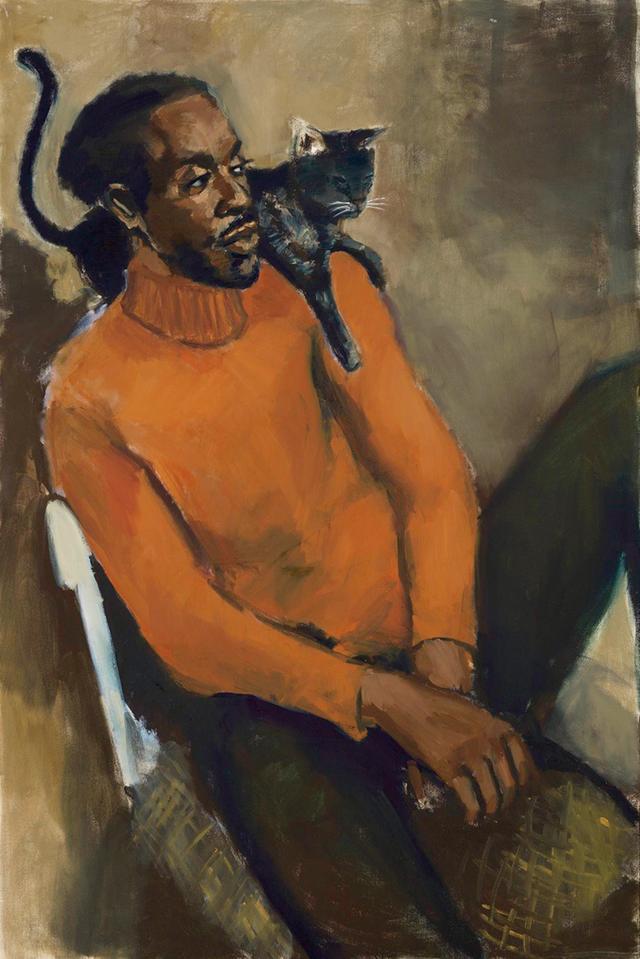 画像: リネット・イアダム・ボークアイ《 In Lieu of Keen Virtue》 (2017年、リネンに油彩) ニューミュージアムにて2017年に開催された展覧会でも展示された作品 © LYNETTE YIADOM-BOAKYE. COURTESY OF THE ARTIST AND JACK SHAINMAN GALLERY,NEW YORK AND CORVI-MORA, LONDON