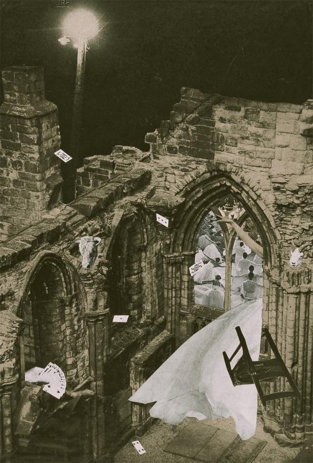画像: 《天使の巣》The Nest of Angels, 1952年 高知県立美術館所蔵 © OKANOUE TOSHIKO