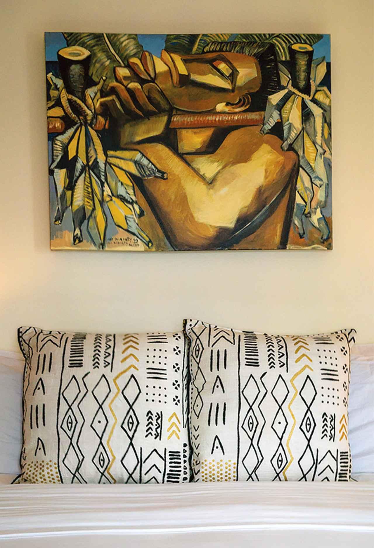 Images : 「パイア・イン」の客室のひとつ