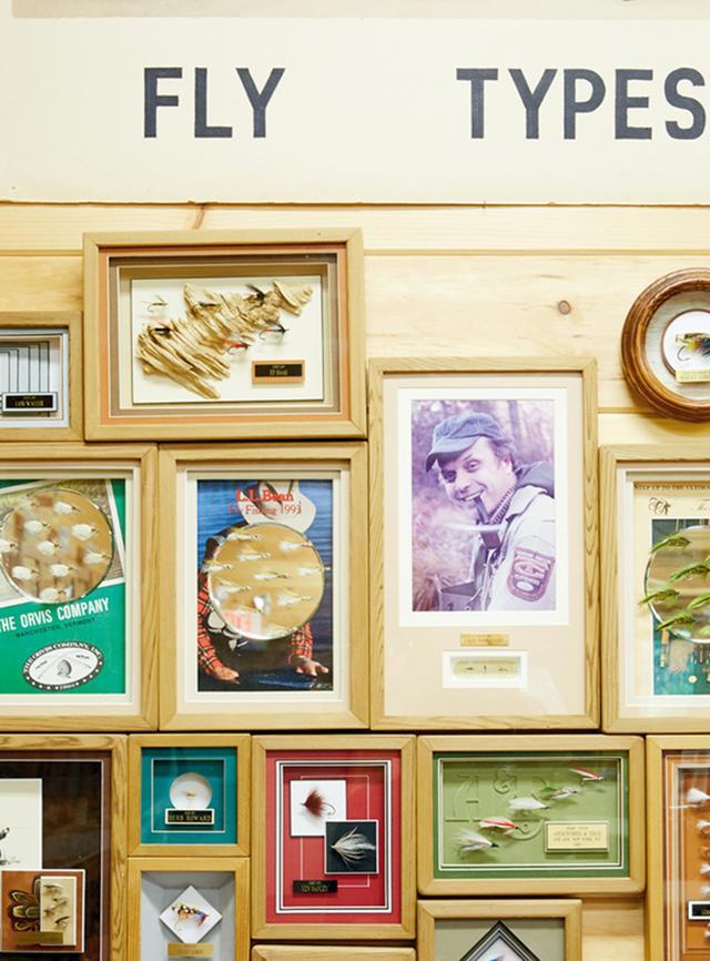 画像: リビングストン・マナーの「キャッツキル・フライフィッシング・センター&ミュージアム」