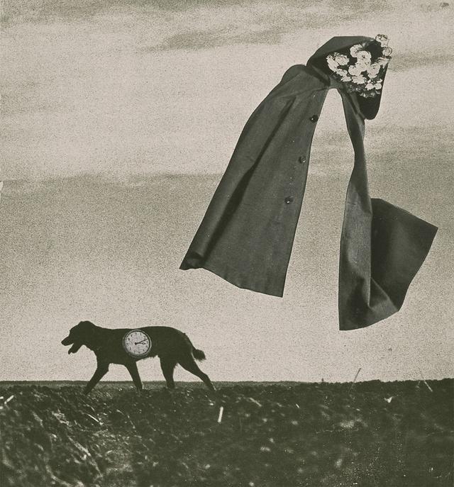 画像: 《はるかな旅》 A Long Journey, 1953年 高知県立美術館所蔵 © OKANOUE TOSHIKO