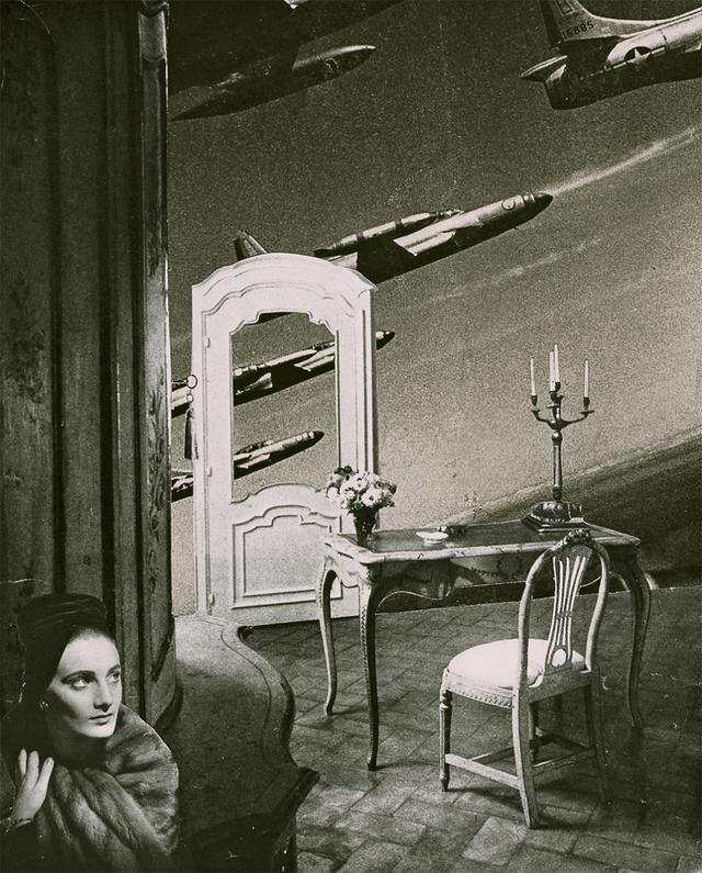 画像: 《予感》Premonition, 1952年 高知県立美術館所蔵 © OKANOUE TOSHIKO