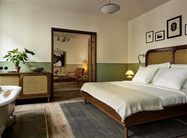 画像: 「ホテル・サンダース」のアパートメント COURTESY OF HOTEL SANDERS