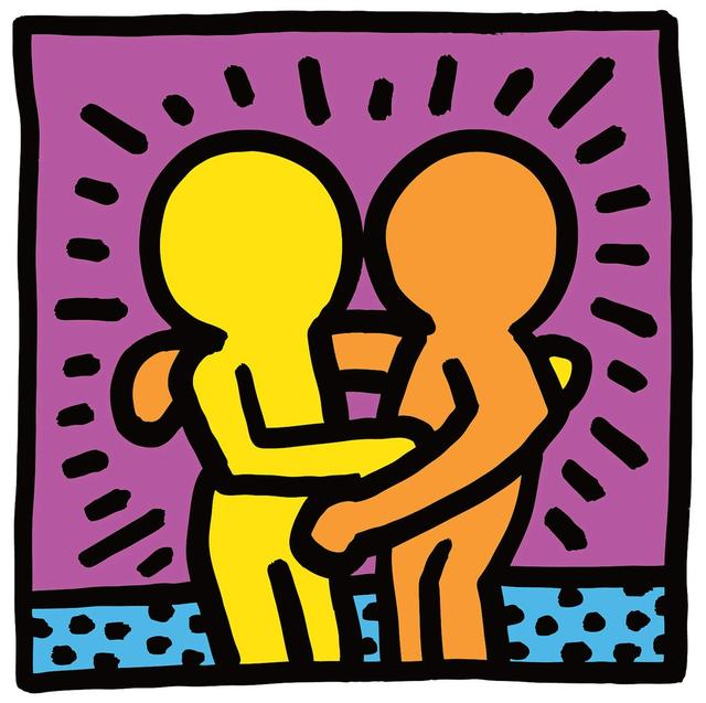 "画像: ""UNTITLED,""1987 @THE KEITH HARING FOUNDATION/ZETA IMAGE"