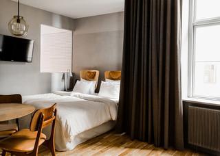 「ホテル SP34」の室内