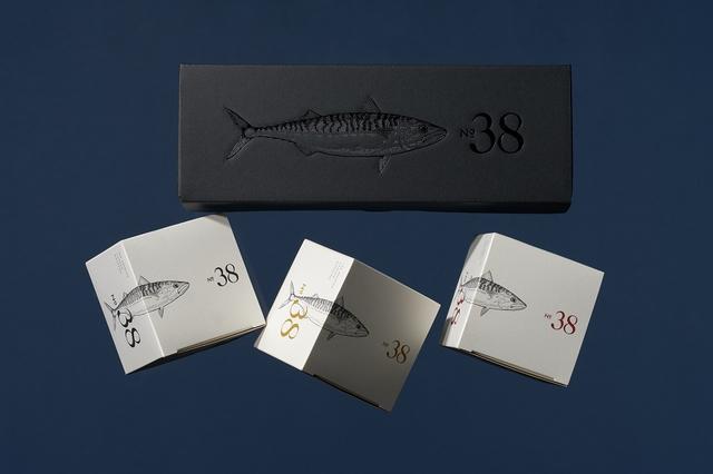 画像: シックなギフトボックス入りの「No.38 珠玉の3缶セット」¥3,500/ 送料¥600(北海道・沖縄は¥900)