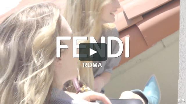 画像1: 俳優 ユアン・マクレガーのふたりの愛娘が出演する「エピソード5」。撮影はLAで行われた © FENDI