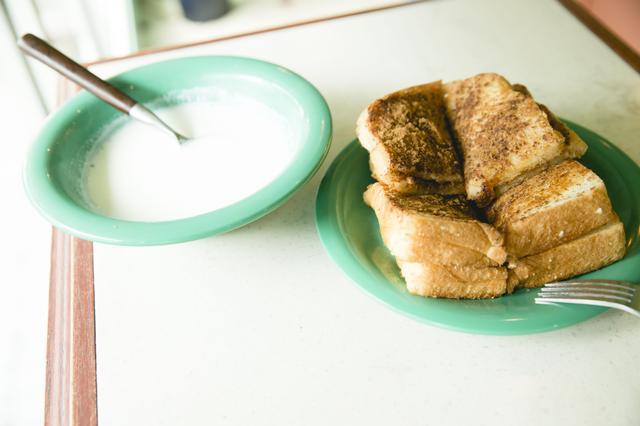 画像: ミルクトースト ¥400