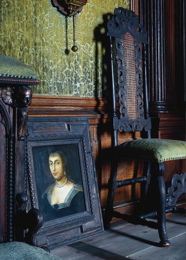 画像: かつて城を所有していたクーエンブルク一族のひとりを描いた17世紀の肖像画