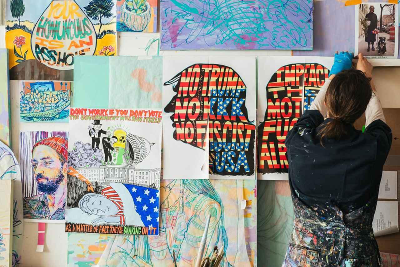 """Images : 5番目の画像 - 「""""色彩の恍惚""""を呼び起こす ある画家のアトリエにて」のアルバム - T JAPAN:The New York Times Style Magazine 公式サイト"""