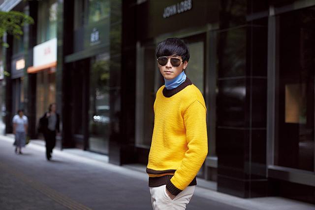 """画像1: 俳優カン・ドンウォンが着こなす """"スタイル""""のある服"""