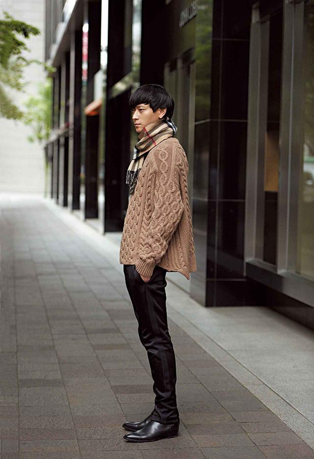 """画像3: 俳優カン・ドンウォンが着こなす """"スタイル""""のある服"""