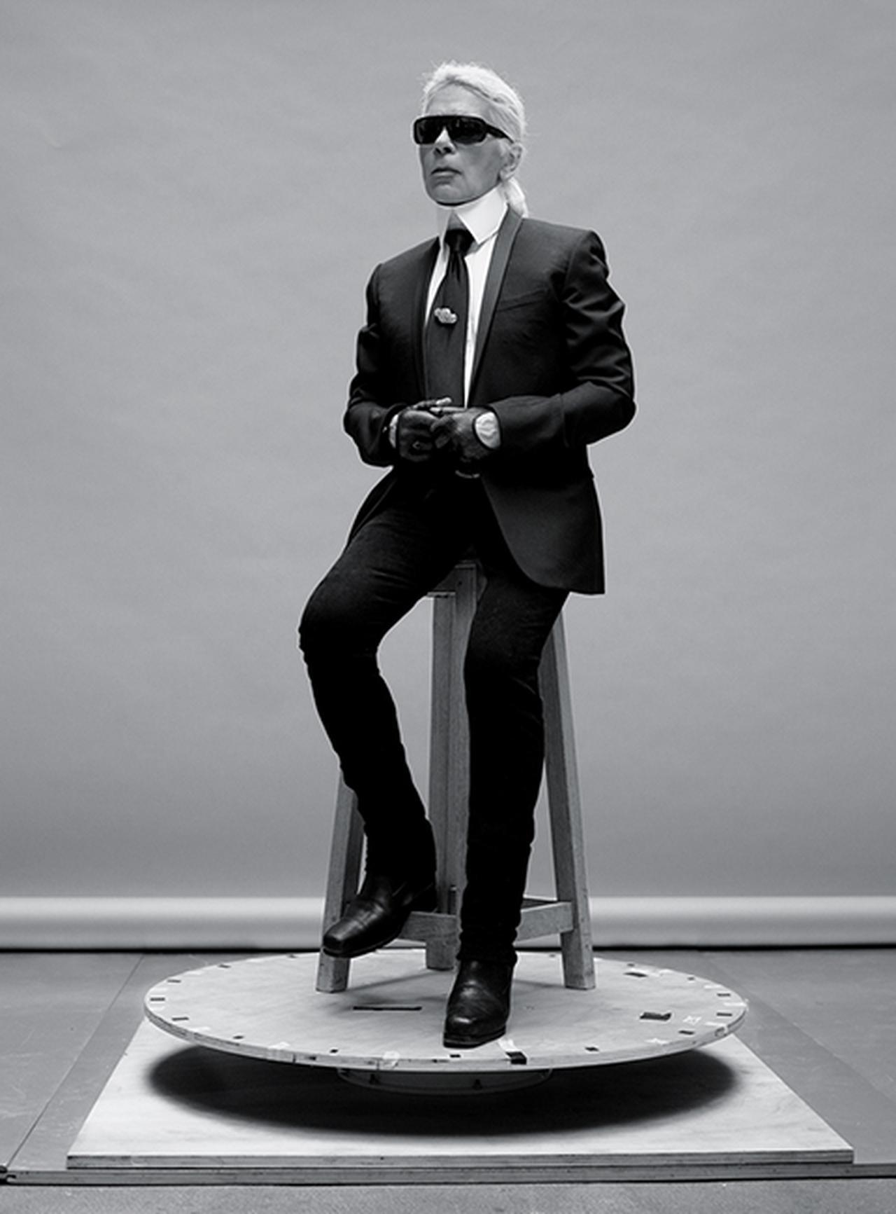 Images : 1番目の画像 - 「カール・ラガーフェルド、 比類なき鬼才の頭の中にあるもの」のアルバム - T JAPAN:The New York Times Style Magazine 公式サイト