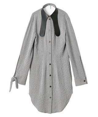 ロングシャツ¥155,000