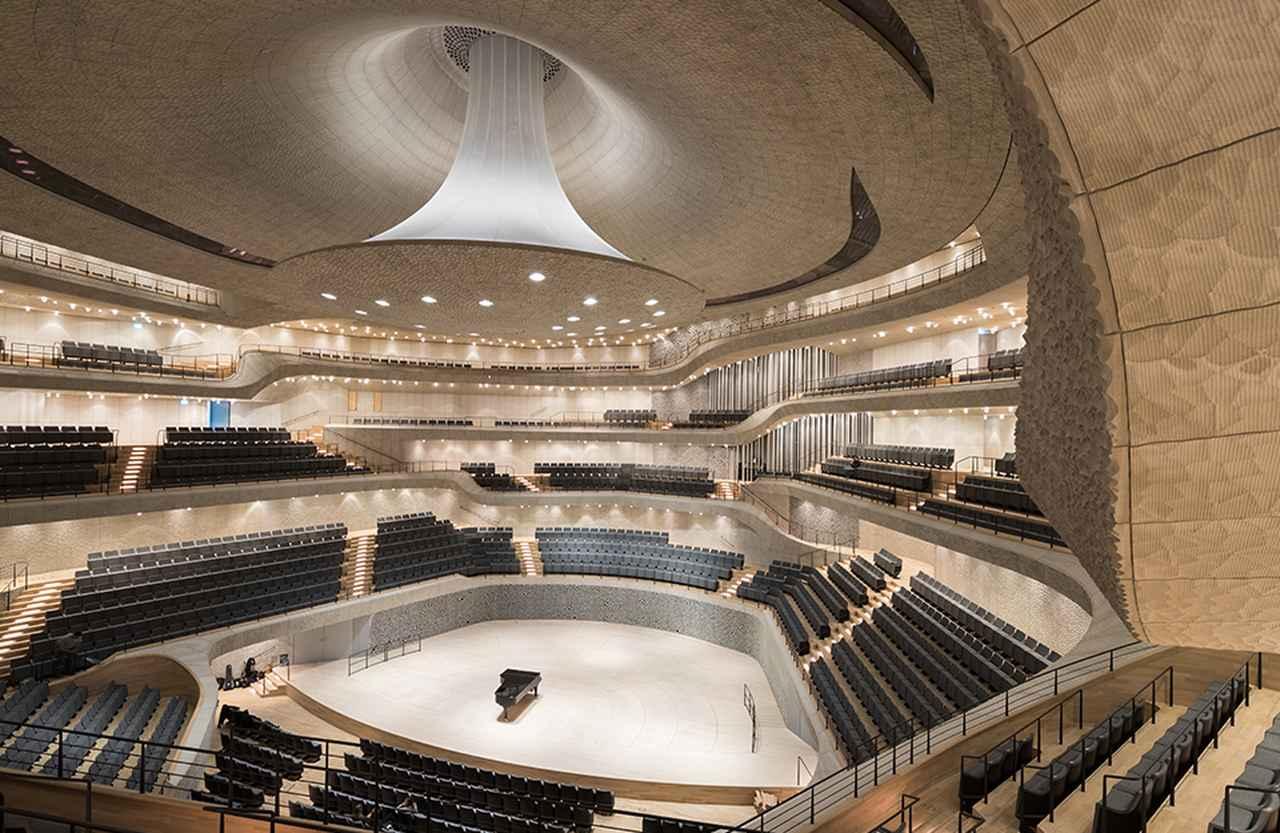 画像 : エルプフィルハーモニー・大ホール