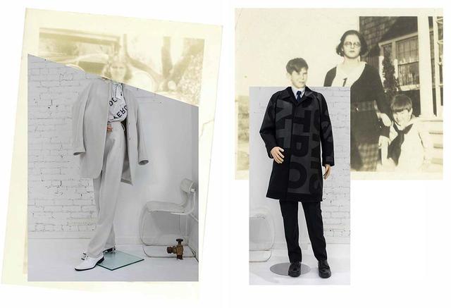 画像: 2018-'19秋冬コレクションより。これまでシーズンごとに、コラージュ形式のビジュアルを発表してきたが、今季はアートブックを制作。アメリカの古き良き家族たちが、あたかもOVERCOATの衣装を着用しているように表現した COURTESY OF OVERCOAT ほかの写真をみる