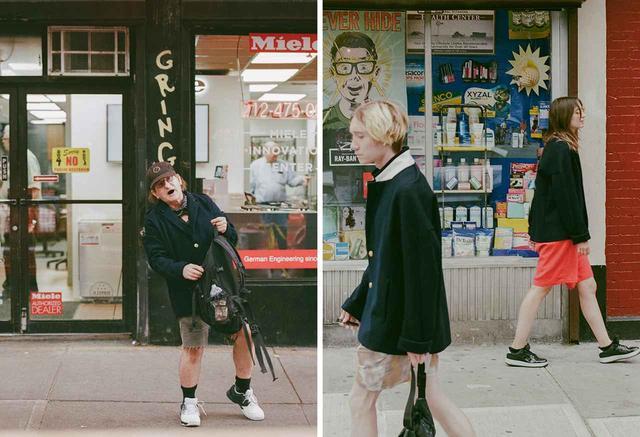 画像: ポップアップ・イベントのために制作したビジュアル。老若男女をストリートでキャスティングし、私服の上からOVERCOATのブレザーを着用させて撮影した COURTESY OF OVERCOAT ほかの写真をみる