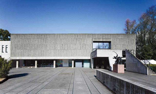 画像: ほかの写真をみる ル・コルビュジエが設計した、東アジアで唯一の建築作品。いたって控えめな外観の〈国立西洋美術館〉(1959年竣工・東京)