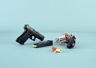ダレン・ベイダーによる 4 作品:銃弾の研究