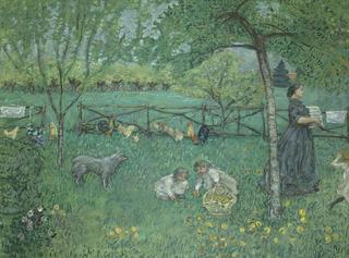 ピエール・ボナール《大きな庭》