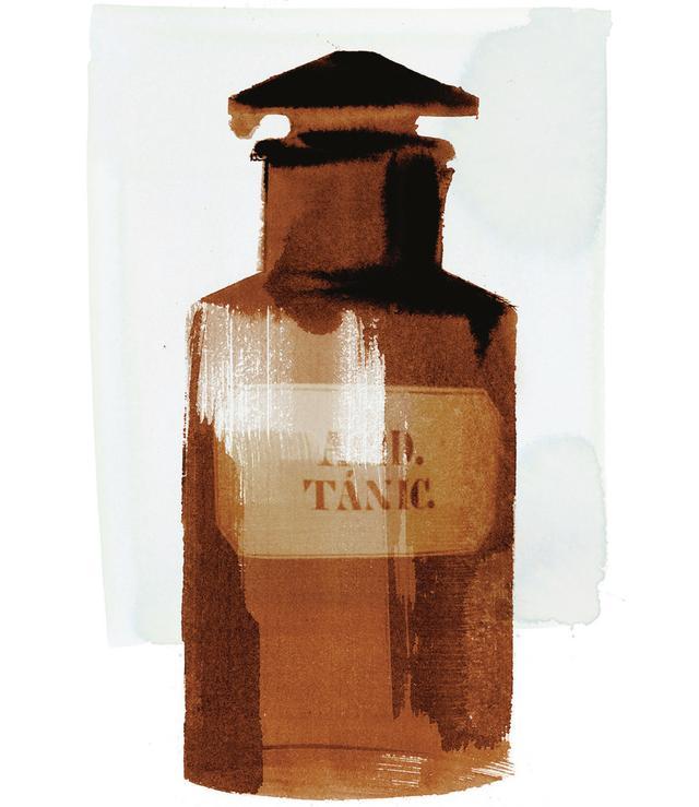 画像: ガラスボトル/ウルグアイ、Acid. Tánic.(タンニン酸)、年代不詳 ほかの写真を見る