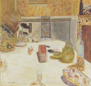 ピエール・ボナール《ル・カネの食堂》