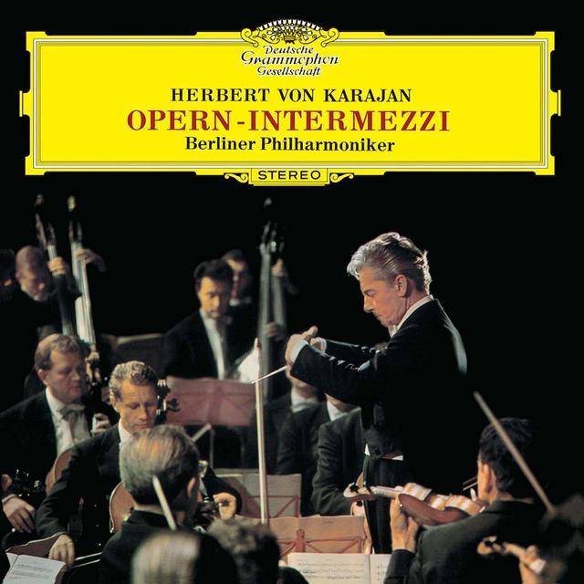 画像: ヘルベルト・フォン・カラヤンなど数々の名匠が歴史的名盤を残してきたドイツ・グラモフォン。 写真はカラヤン『オペラ間奏曲集』(ベルリン・フィルハーモニー管弦楽団、UCCG-51055) COURTESY OF UNIVERSAL MUSIC JAPAN
