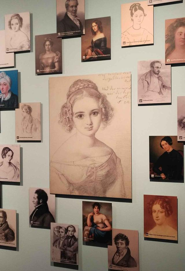 画像: メンデルスゾーンの姉ファニーは女性作曲家の先駆けとして知られる。あまりに愛くるしい肖像画 PHOTOGRAPH BY NATSUME DATE