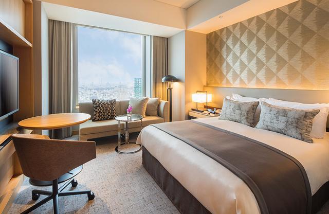 画像: 32階~36階に位置する「エグゼクティブ・スーペリア・キング」<37.6㎡>は人気の客室タイプ