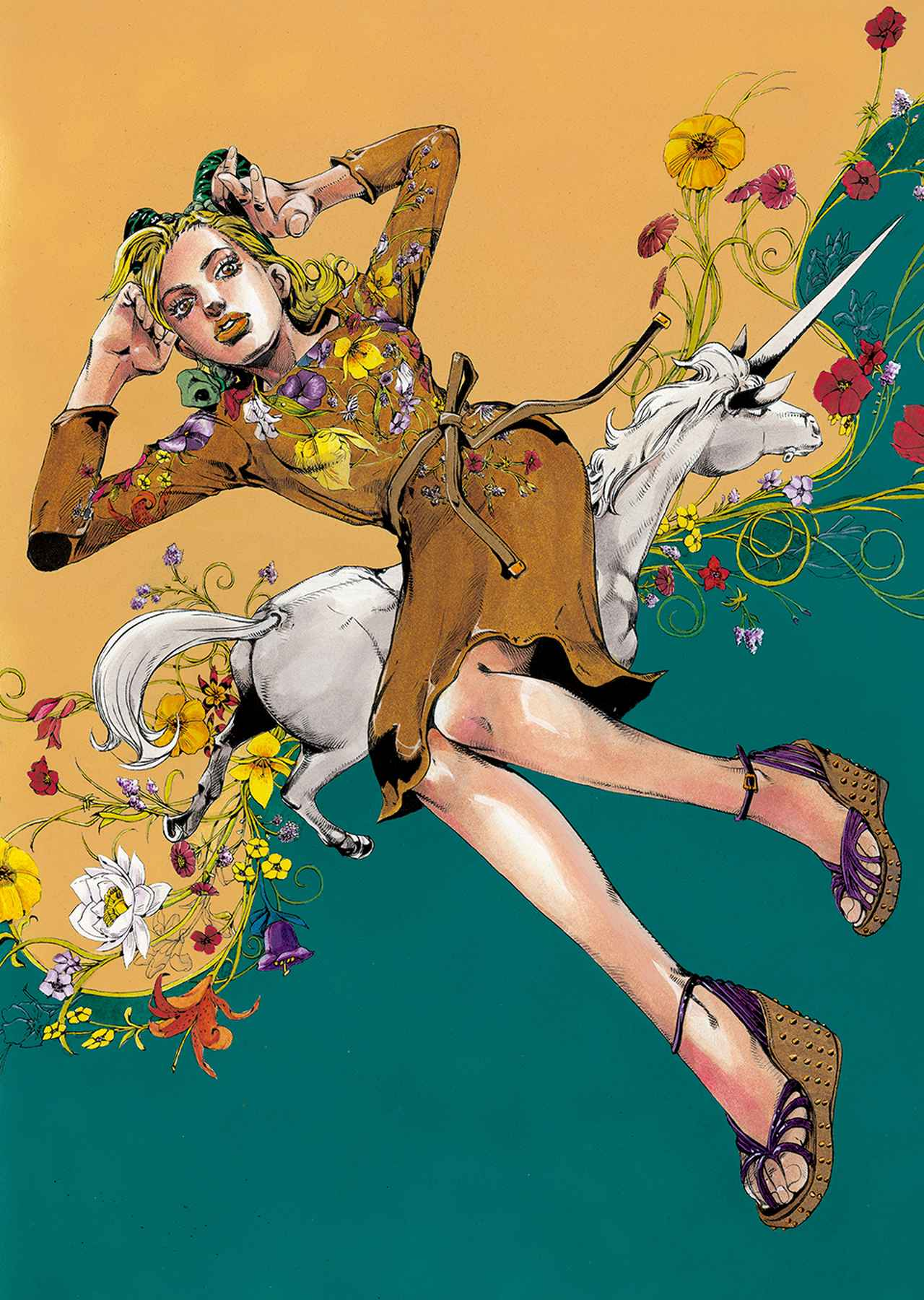 Images : 3番目の画像 - 「スペシャル インタビュー 漫画家・荒木飛呂彦の化学反応」のアルバム - T JAPAN:The New York Times Style Magazine 公式サイト