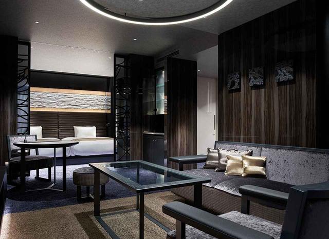 画像: 客室「プレミアツイン」<55.9㎡>。 ベッドルームとリビングルームが独立したホテル最大の空間 www.tjapan.jp