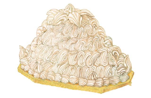 画像1: 今年はメリー・栗スマス! ホテルのケーキを指名買い