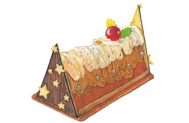 画像3: 今年はメリー・栗スマス! ホテルのケーキを指名買い