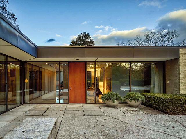 画像: ほかの写真をみる ブルームフィールドヒルズにあるヤマサキがかつて住んでいた家