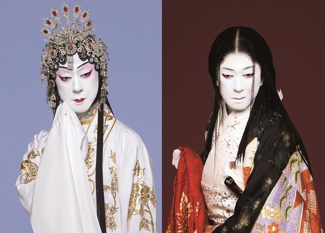 画像: シネマ歌舞伎『沓手鳥孤城落月/楊貴妃』(左)楊貴妃、(右)淀の方=坂東玉三郎 PHOTOGRAPH BY TAKASHI OKAMOTO