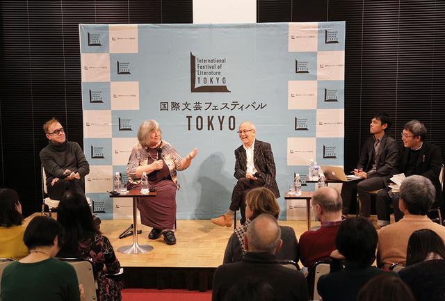 画像: 2018年11月22日、日本文学を世界に紹介している翻訳者や編集者を招いた国際イベントが開催された