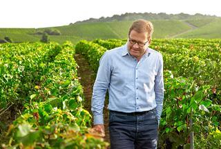 最高醸造責任者のシリル・ブラン