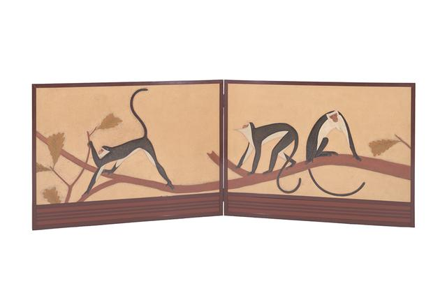 画像: 1925年に開催されたパリ万国博覧会で金賞を受賞した漆芸家の山崎覚太郎は、作品「猿」(1939年)で大胆で自由な漆表現を見せた © COURTESY OF TOKYO UNIVERSITY OF THE ARTS