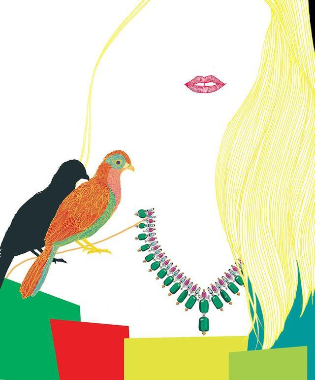 画像1: 夢の翼にのせてーー。 ジュエリーとアートが紡ぐ 珠玉の物語