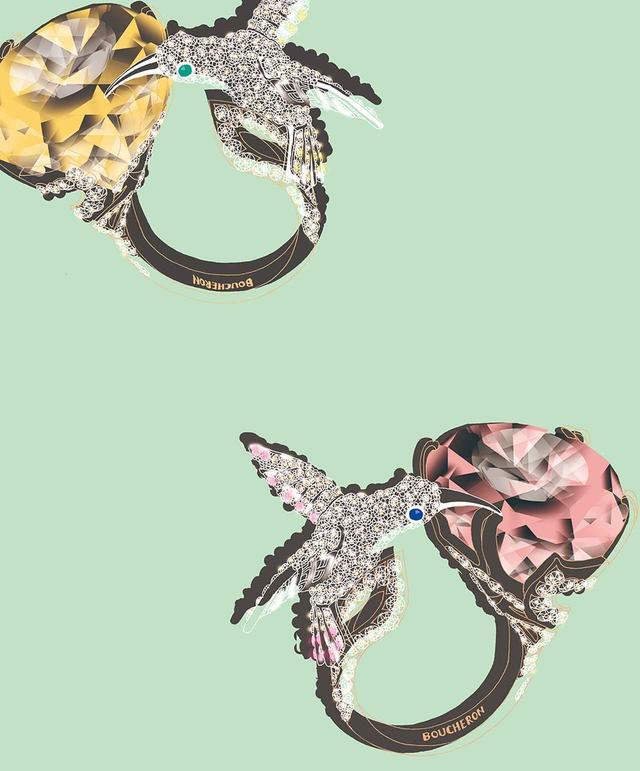 画像2: 夢の翼にのせてーー。 ジュエリーとアートが紡ぐ 珠玉の物語
