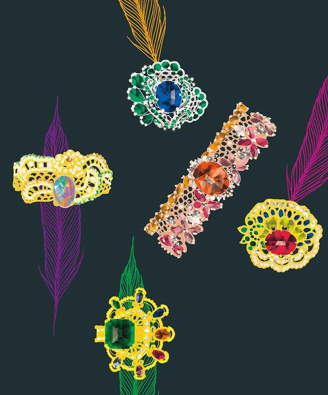 画像5: 夢の翼にのせてーー。 ジュエリーとアートが紡ぐ 珠玉の物語