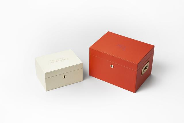 画像: (右)「Ultimate Box with Lift Out Tray」¥170,000 (左)「Small Ultimate Box」¥86,000