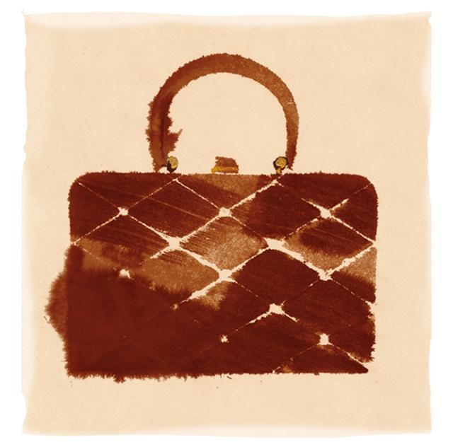 画像: キャラメル色のルーサイトバッグ/ウィルアーディー・オブ・ニューヨーク社製, 1951-54年頃 ほかの写真をみる