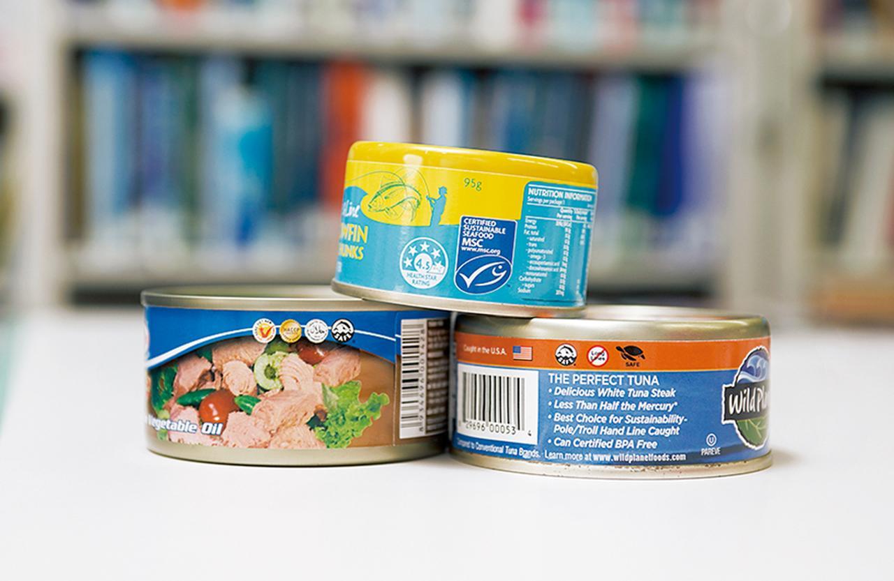 Images : アメリカで市販されているツナ缶