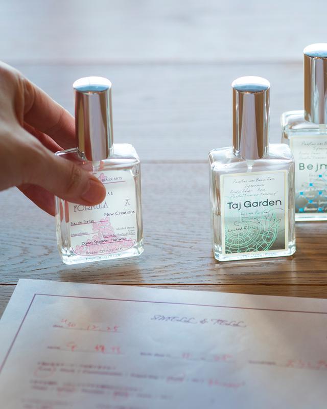 画像: 「フォーミュラ X」<30ml>¥10,500 スキンタイプを調べるための試験薬的な働きをするオード パルファム。肌の香りを内側から引き出す