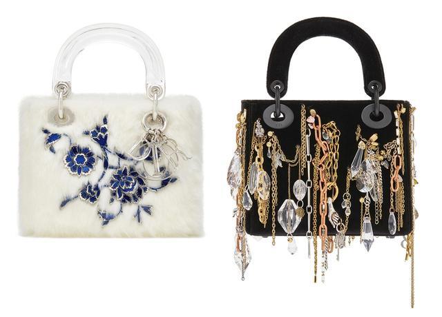 画像: (左から)ブルチャク・ビンギョルによるバッグ(ミニサイズ) ¥770,000、 イザベル・コルナロによるバッグ(ミニサイズ)¥910,000 COURTESY OF DIOR ほかのバッグをみる