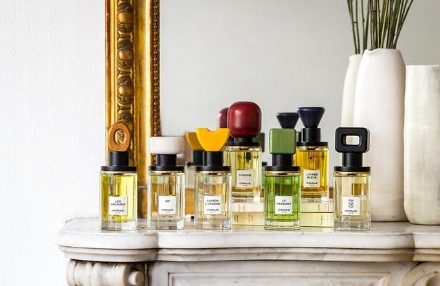 画像: 「オルメ」のフレグランスは7つとも、人工的な香料を使用せずにつくられている。 ニューヨークのスペシャリティストア「 BARNEYS NEWYORK 」で独占発売中