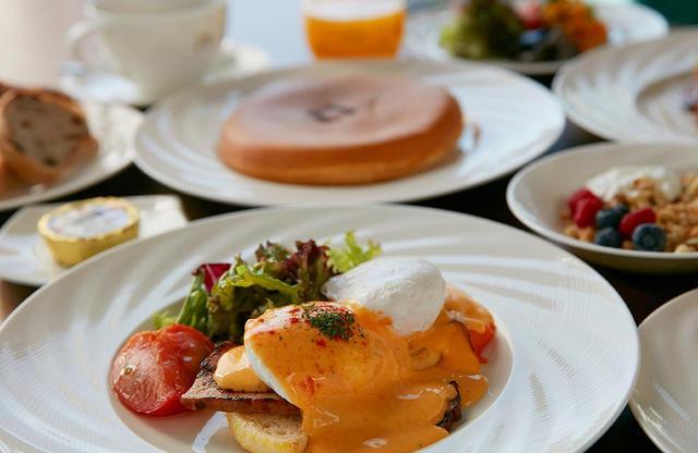 画像: 「Anchor Tokyo」ではリッチな朝食も提供